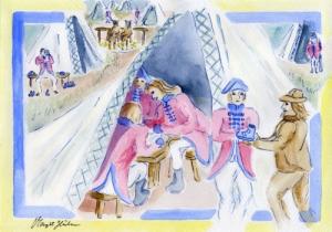 Bote Lohrmann und die Schlacht bei Minden