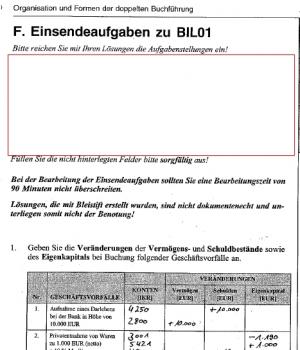 Einsendeaufgabe BIL 01 Medienbetriebswirt, BIL1, BIL01