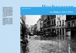 Hochwasser in Hilden 1957/1961