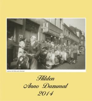 Kalender Hilden Anno Dazumal 2014