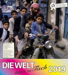 Kalender 'Die Welt bittet zu Tisch 2019'