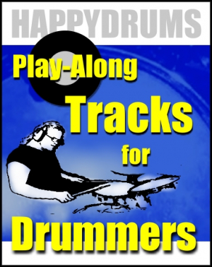 'Fast Funny Rock' Play-Along Track for Drummers