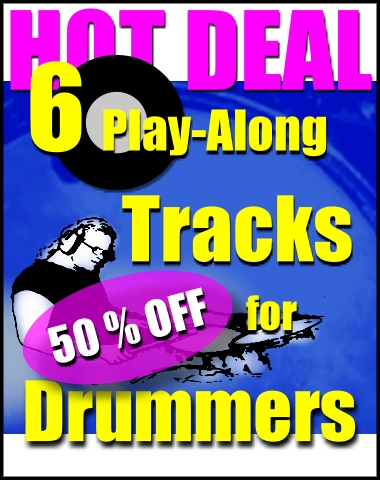 Play-Along Pack for Drummers 'Rock and Pop Grooves'