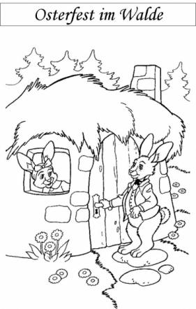 Osterfest im Walde