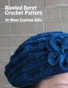 Rippled Beret Crochet Pattern