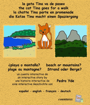 Tina: ¿playa o montaña? (multilingüe)