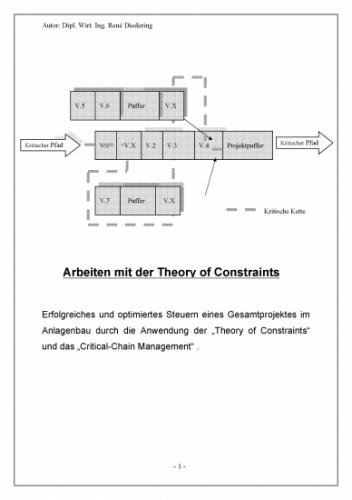 Arbeiten mit der Theory of Constraints