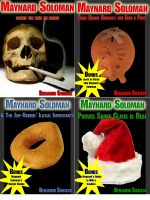 4 Funny Detective Stories - Starring Maynard Soloman