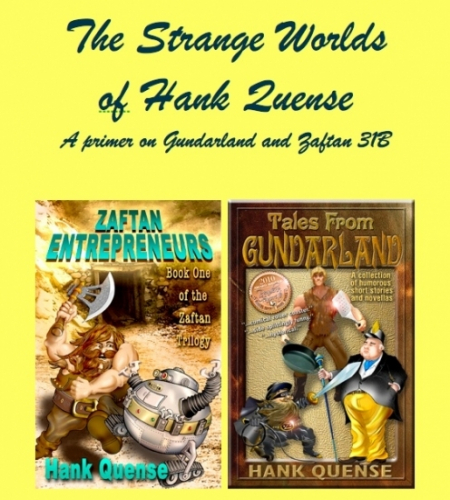 The Strange Worlds of Hank Quense