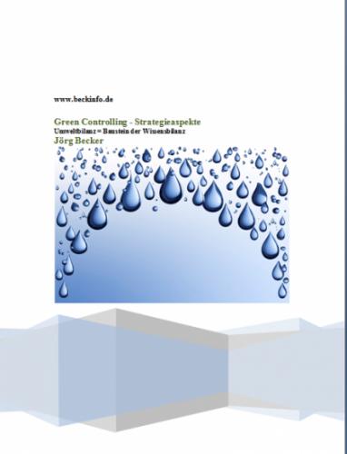 Green Controlling - Strategieaspekte