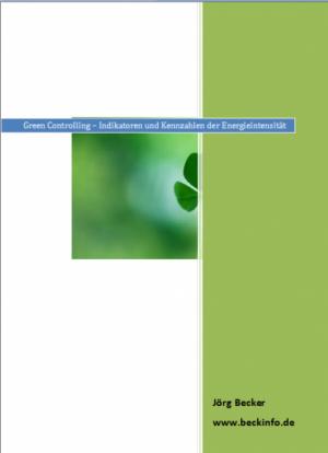 Green Controlling - Kennzahlen der Energieintensität