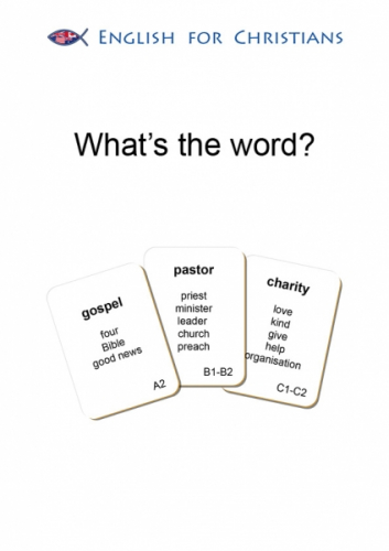 What's the word?