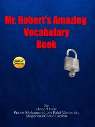 Mr. Robert's Amazing Vocabulary Book