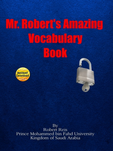 Mr. Robert's Amazing Vocabulary Book