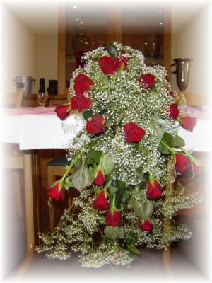 Hochzeits Tischdekoration traumhaft schön Traumhochzeit