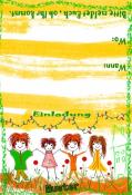 Einladung Kindergeburtstag, Geburtstag,Sommerfest,Grillabend