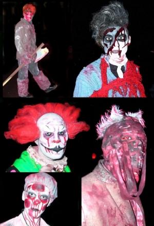 5 Halloween Bilder auf 5 Seiten u.a. das Es