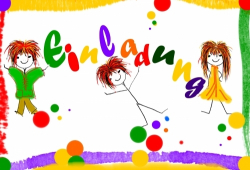 Einladung, Kindergeburtstag, Geburtstag, Party, Sylvester