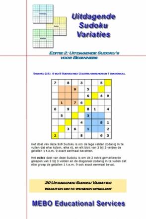 Uitdagende Sudoku Variaties voor Beginners, Editie 002