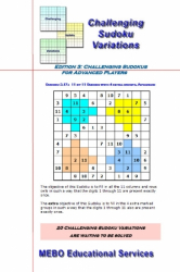Challenging Sudoku Variations, Advanced Players Edition 003
