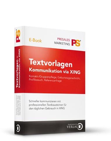 Textvorlagen Kommunikation via XING