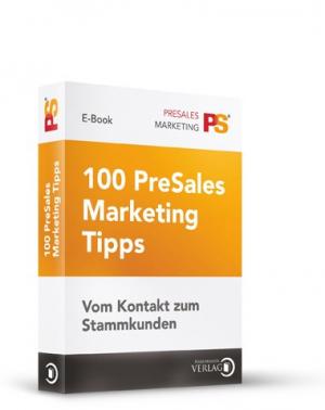 100 PreSales Marketing Tipps