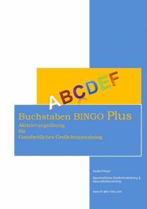 Buchstaben Bingo PLUS