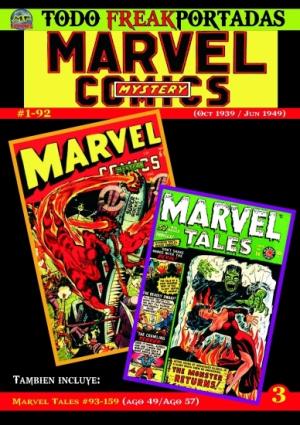 TODO FREAKPORTADAS #3 -MARVEL MYSTERY COMICS-