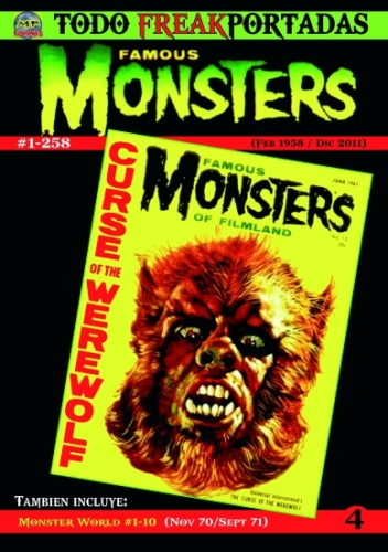 TODO FREAKPORTADAS #4 -FAMOUS MONSTERS-
