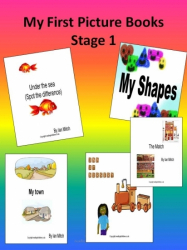 My First Picture Books - Stage 1