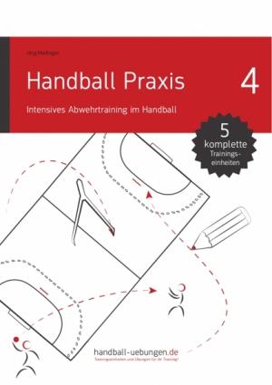Intensives Abwehrtraining im Handball
