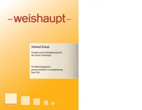 Gesamtplanung Projektarbeit IHK Medienfachwirt Digital Print
