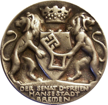 Medaillen-Katalog Bremen & Bremerhaven 1640 - 2007