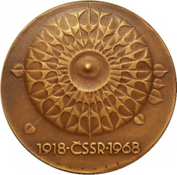 Medaillen-Katalog Czechoslowakei