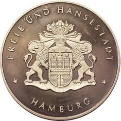Medaillen-Katalog Hamburg 1549 - 2009