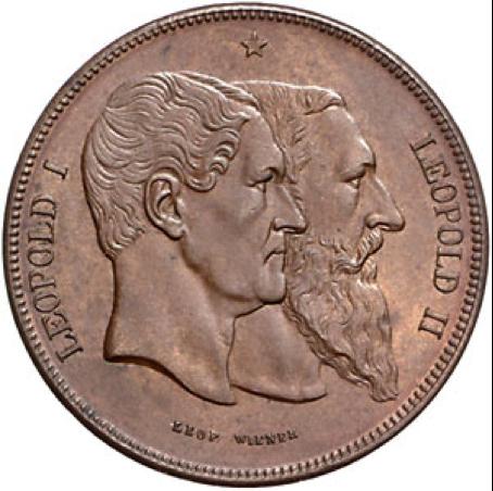 Medaillen-Katalog Belgien 1830 - 2007