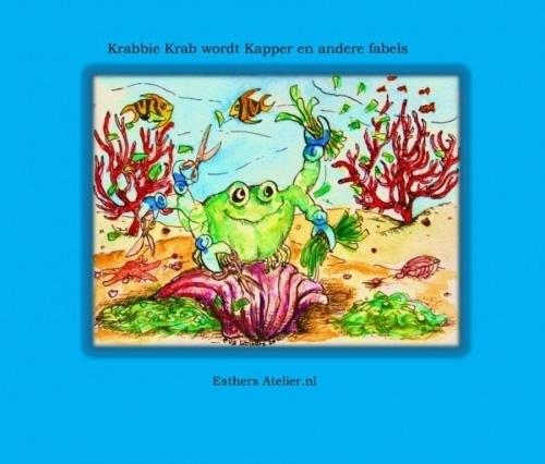 Krabbie Krab wordt Kapper