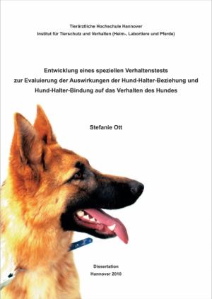 Entwicklung eines speziellen Verhaltenstests für Hunde