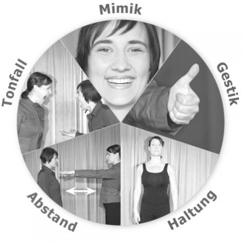 Körpersprache in Kurzform