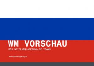 Spielverlagerung WM-Vorschau 2018