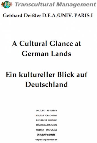 A Cultural Glance at German Lands