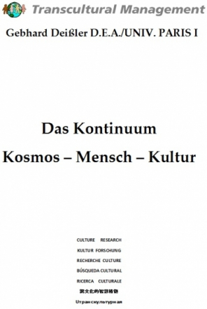 Das Kontinuum Kosmos – Mensch – Kultur