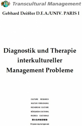 Diagnostik und Therapie interkultureller Management Probleme