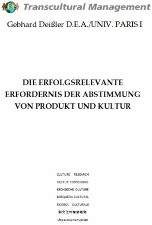 Die erfolgsrelevante Erfordernis der Abstimmung von Produkt