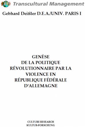 GENÈSE DE LA POLITIQUE RÉVOLUTIONNAIRE PAR LA VIOLENCE EN RÉ