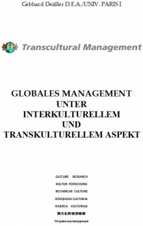 GLOBALES MANAGEMENT UNTER INTERKULTURELLEM UND TRANSKULTUREL