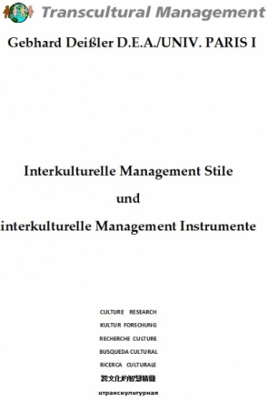 Interkulturelle Management Stile und interkulturelle Manag