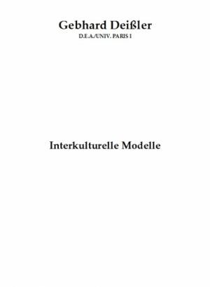 Interkulturelle Modelle