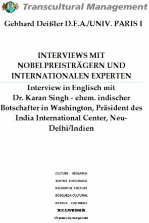 INTERVIEWS MIT NOBELPREISTRÄGERN U. INTERNATIONALEN EXPERTEN