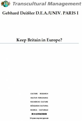 KEEP BRITAIN IN EUROPE?